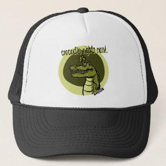 Krokodil berichtigt jetzt Grün Truckerkappe