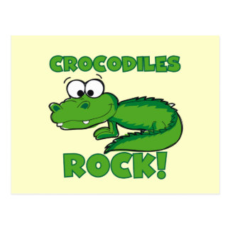 Krokodil-Felsen Postkarte