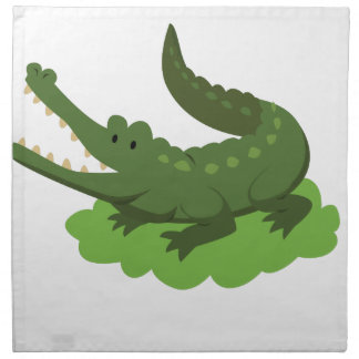 Krokodil Stoffserviette