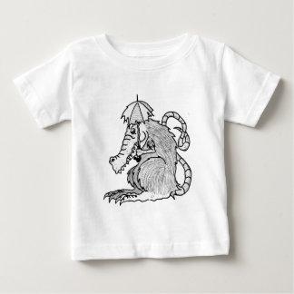 Krokodilratte Baby T-shirt