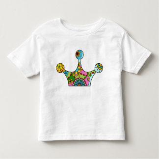 Krone bunt kleinkind t-shirt