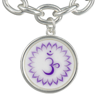 Krone Chakra Charm Armband