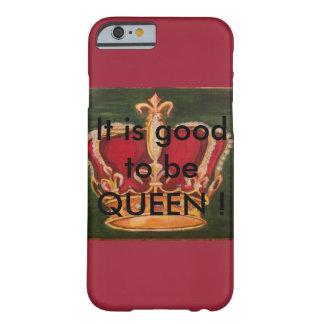 Krone Diadem  Luxus Nur  für die  echte Königin! Barely There iPhone 6 Hülle