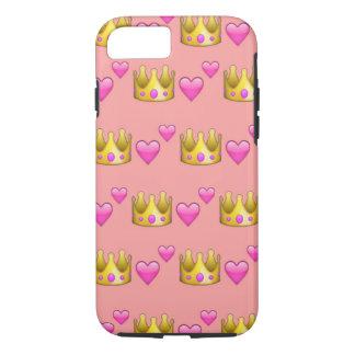 Krone Emoji iPhone 7 Telefon-Kasten iPhone 8/7 Hülle