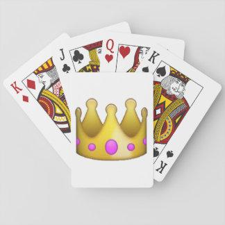 Krone - Emoji Spielkarten