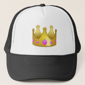 Krone Emoji Truckerkappe