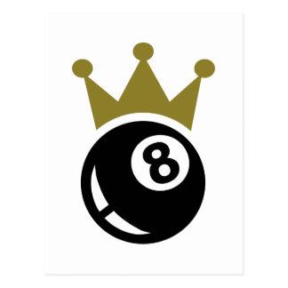 Krone mit acht Balbillard Postkarte