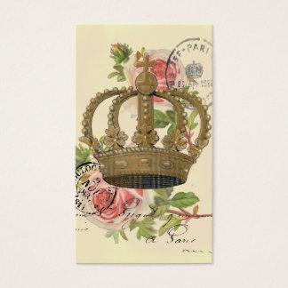 Krone und Rosen Visitenkarte