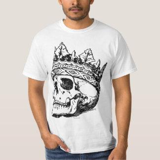 Krone und Totenkopf T-Shirt