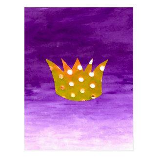 Kronen-Postkarte Postkarte