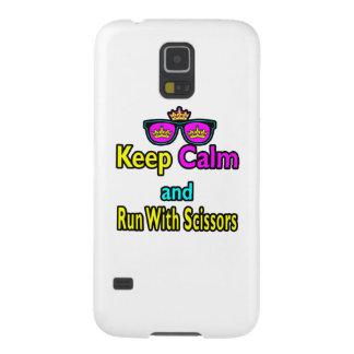 Kronen-Sonnenbrillen behalten Ruhe und laufen mit Samsung S5 Hülle