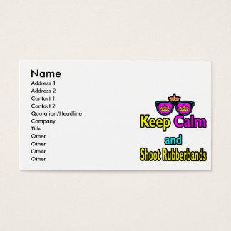 Kronen-Sonnenbrillen behalten Ruhe und schießen Visitenkarte