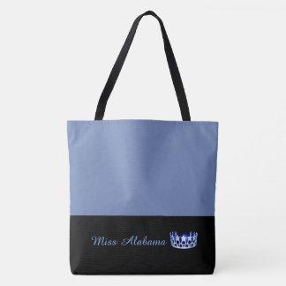 Kronen-Tasche Tasche-Medium Blau Fräulein-USA Tasche