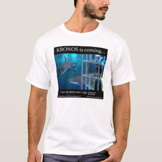 """KRONOS STEIGENDER """"HAIFISCH-KÄFIG"""" T - Shirt"""