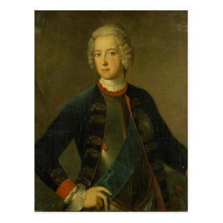 Kronprinz Frederick II, 1728 Postkarte