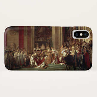 Krönung von Napoleon durch Jacques-Louis David iPhone X Hülle