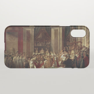 Krönung von Napoleon iPhone X Hülle