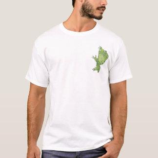 Kröte auf einem T-Shirt