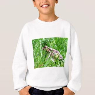 Kröte im Gras Sweatshirt