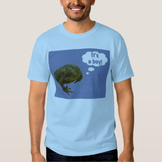 Kröte ist es ein Junge! T - Shirt-neues Baby Shirts