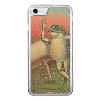 Kröte und Pilz Carved iPhone 8/7 Hülle