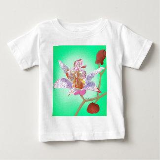 Kröten-Lilien-Blumen Baby T-shirt