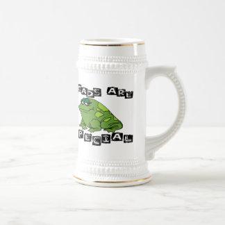 Kröten sind speziell bierglas