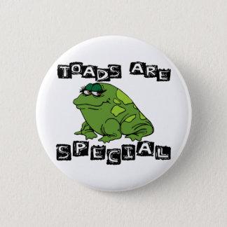 Kröten sind speziell runder button 5,7 cm