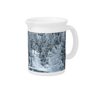 "Krug - ""Winter-Tag bei Yellowstone """