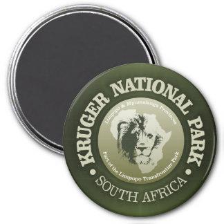Kruger Nationalpark Runder Magnet 7,6 Cm
