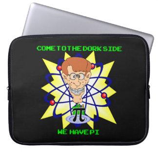 KRW kommen zur Depp-Seiten-PU-Nerd-Hülse Laptopschutzhülle