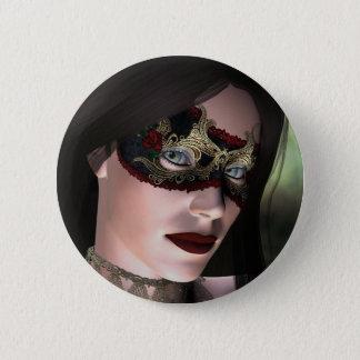 KRW-Maskerade-Fantasie-Knopf Runder Button 5,7 Cm