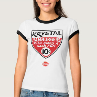 Krystal 10 Cent-Schild T-Shirt