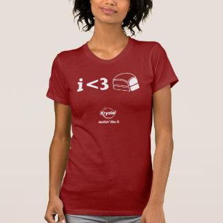 Krystal 3. Platz - I <3 Krystals! T-Shirt