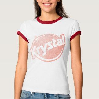 Krystal Logo verblaßte T-Shirt