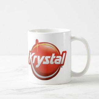 Krystal neues Logo Kaffeetasse