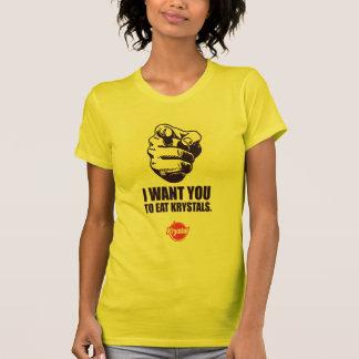 Krystal Wahl - wollen Sie Sie T-Shirt