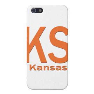 KS Kansas einfache Orange iPhone 5 Hülle