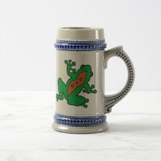 KSF Frosch-Bier Stein Bierglas