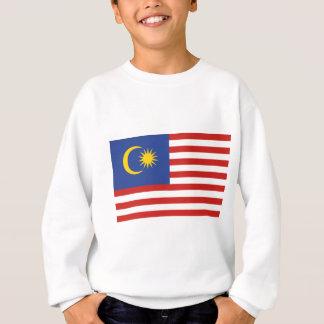 Kuala- Lumpurflagge Sweatshirt