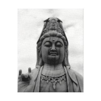Kuan Yin Statue-Kunst-Fotografie Leinwanddruck