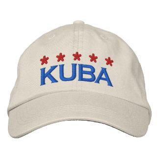 KUBA - 001 BESTICKTE KAPPE
