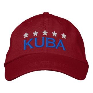KUBA - 002 BESTICKTE KAPPE