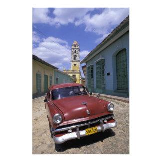 Kuba, altes Kolonialdorf von Trinidad Fotografischer Druck