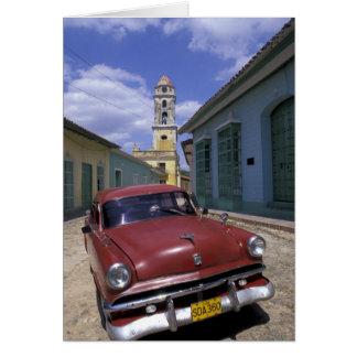 Kuba, altes Kolonialdorf von Trinidad Karte