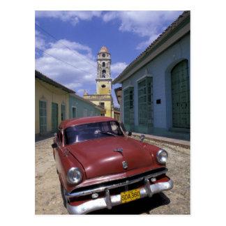Kuba, altes Kolonialdorf von Trinidad Postkarte