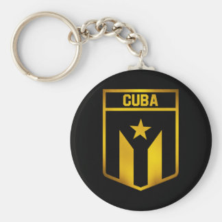 Kuba-Emblem Schlüsselanhänger