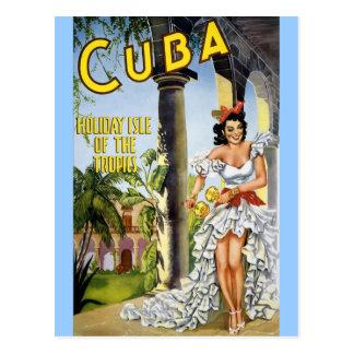 KUBA-FEIERTAGS-INSEL DER TROPEN POSTKARTEN