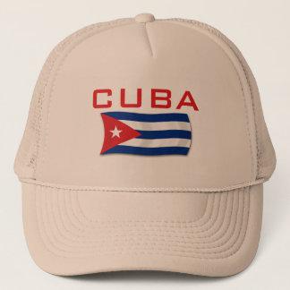 Kuba-Flagge 1 Truckerkappe