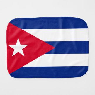 Kuba-Flagge Baby Spucktuch